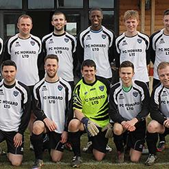 Kings Cliffe Football Club sponsored by PC Howard Ltd