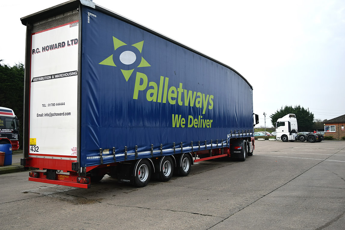 We are also a Platinum member of the Palletways Network