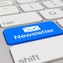 Subscribe to our newsletter and receive regularly updates about our business