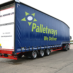 PC Howard has specialised in pallet freight distribution for many years and is a longstanding member of Palletways