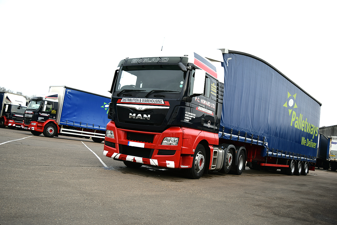We are members of Palletways - the UK and Europe's number 1 palletsied freight distribution network