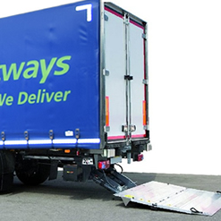 Tail lifts make it easier for you to move bulky or heavy goods