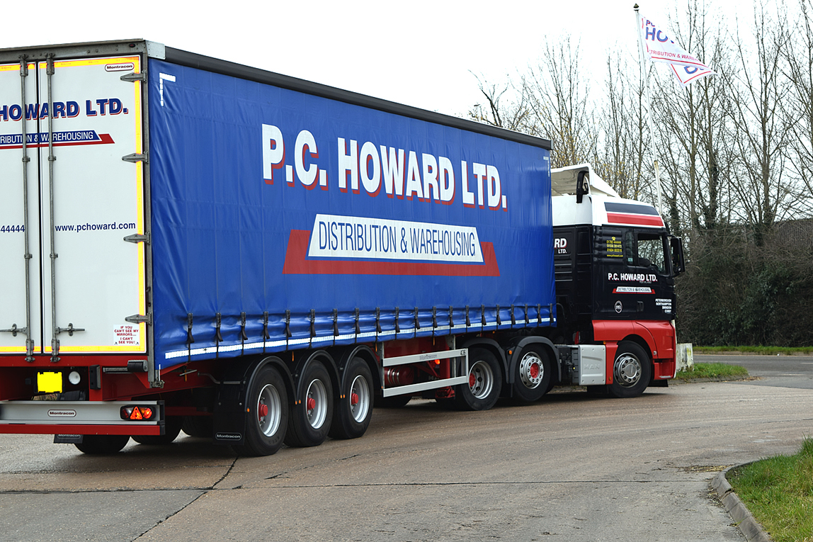 Our impressive haulage fleet forms the basis of our distribution service